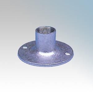 Galvanised Steel Dome Lid 20mm