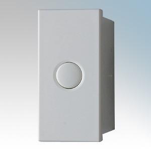 Danlers DSSGD EU400W White 1 Module Soft Start Grid Dimmer For EuroData Plate System 40W - 400W H: 59mm x W: 24mm x D: 38mm