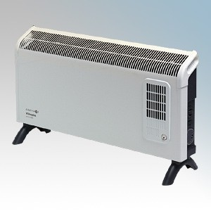 Dimplex DXC30 Contrast White/Graphite Grey Portable Convector Heater With Thermostat 3.0kW W:695mm x H:418mm x D:196mm
