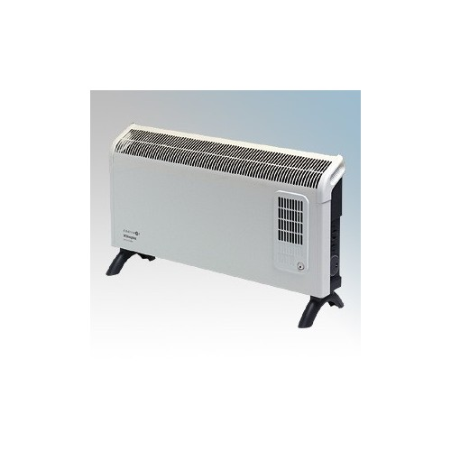 Dimplex DXC30FTi Contrast White/Graphite Grey Portable Convector Heater With Thermostat, 24 Hour Timer & Turbo Boost 3.0kW W:695mm x H:418mm x D:196mm