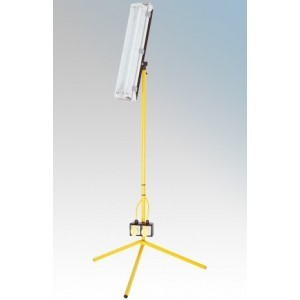 Birchwood E708630 Defender Tripod Mounted 2ft Site Fluorescent With 5m Cable 2x18W 240V