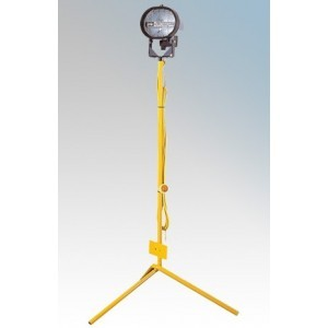 Birchwood E709070 Defender Tripod Mounted Single Halogen Site Light With 3m Cable 500W 240V