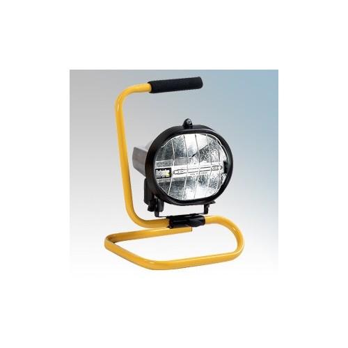 Birchwood E709090 Defender Halogen Floor Standing Worklight 500W 110V