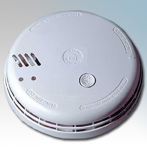 Aico PACK OF 4 Ei146 140 Series Mains Optical Smoke Alarm With Hush, Alkaline Battery Back Up & Mounting Plate 240V