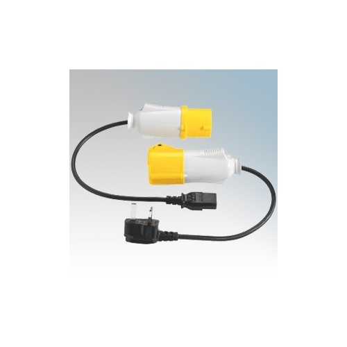 Kewtech 110V Adaptor Kit For Use With KT71 Portable Appliance Tester