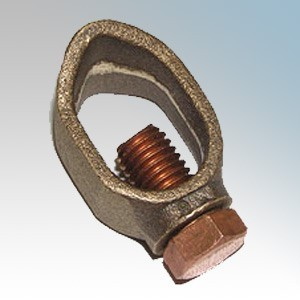 """CED ERCL58 Copper Standard Earth Clamp 16mm (5/8"""")"""