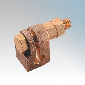 "CED ERCS58 Copper Split Type Earth Clamp 16mm (5/8"")"