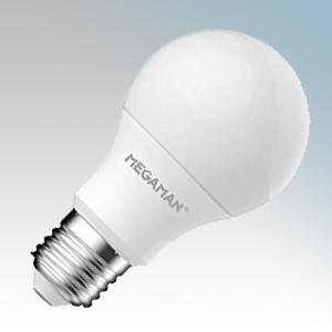 E27 4000K Colour Temperature Megaman RichColour R9 Classic Opal Dimmable LED Light Bulb Warm White 10 Packs 9.5 Watt