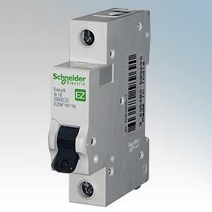 Schneider Easy9 EZ9F16106 B6 6A MCB Brand New