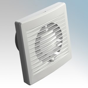 Budget FF100LVT White White Wall / Ceiling Low Voltage Extractor Fan With Remote Timer Transformer 100mm / 4 Inch 12V