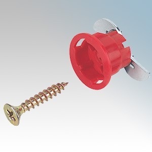 Gripit 182-258 Red Plasterboard Fixings (Pack Size 8) 18mm