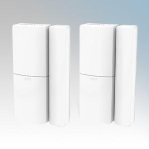 Honeywell HS3MAG2S White Wireless Door & Window Sensor With Batteries (Pack Size 2)