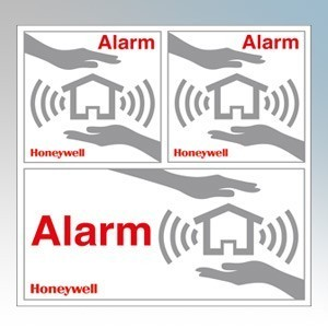 Honeywell HS3WS2S Security Window Sticker Pack with 6 Assorted Stickers