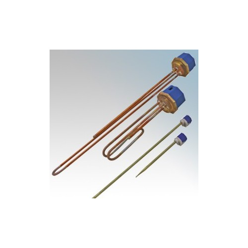 CED IH18SC Immersion Heater With 11 Inch Thermostat 3.0kW Length : 18 Inches