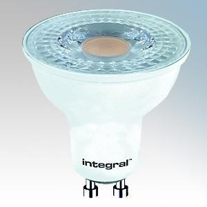 Integral LED (pack of 20) ILGU10NE103-PACK Cool White 15000Hrs Non-Dimmable 36° LED GU10 Lamp 4W GU10 240V L:54mm x dia:50mm