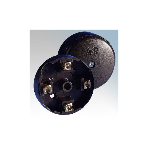 Ashley J201 (pack of 10) Black 4 Terminal Junction Box ...