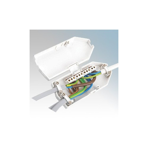 Ashley J501 Low Profile Torpedo Shaped Downlighter Junction Box 16A