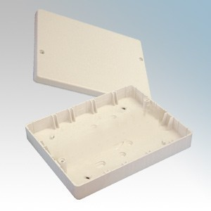 Ashley J701 White Adaptable Junction Box Without Terminals