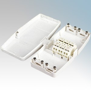 Ashley J804 17th Edition Maintenance Free 4 Terminal Junction Box For Lighting 20A