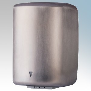 Hyco JET1600BSS Jetstream Ellipse Brushed Satin Silver Low Energy Automatic No Touch Hand Dryer IPX1 1.5kW 240V