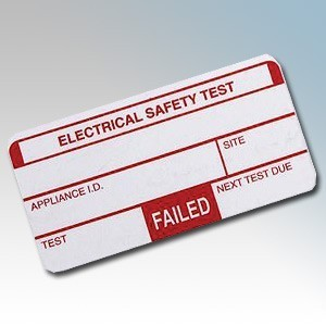 Kewtech 250FAIL PAT Fail Labels ( Pack Size 250 )