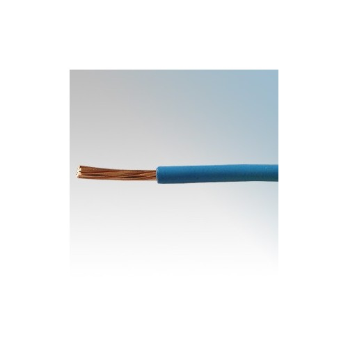 6491X4.0BLU100 BASEC Approved 6491X Blue Single Core Insulated Conduit Wiring Cable 4.0mm 100m Reel
