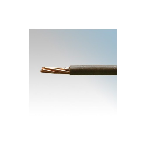 6491X2.5BRN100 BASEC Approved 6491X Brown Single Core Insulated Conduit Wiring Cable 2.5mm 100m Reel