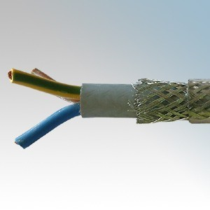 SY1.0-3C Type SY 3 Core Flexible Multicore Control Cable With Numbered Cores 1.0mm (priced per metre)