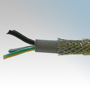 SY2.5-4C Type SY 4 Core Flexible Multicore Control Cable With Numbered Cores 2.5mm (priced per metre)