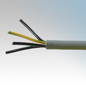 YY2.5-4C Type YY 4 Core Flexible Multicore Control Cable With Numbered Cores 2.5mm (priced per metre)