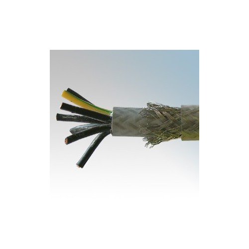SY2.5-7C Type SY 7 Core Flexible Multicore Control Cable With Numbered Cores 2.5mm (priced per metre)