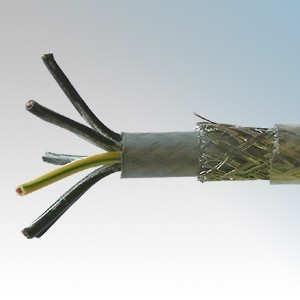 SY1.5-7C Type SY 7 Core Flexible Multicore Control Cable With Numbered Cores 1.5mm (priced per metre)