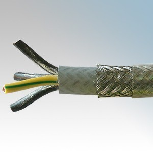 SY6.0-4C Type SY 4 Core Flexible Multicore Control Cable With Numbered Cores 6.0mm (priced per metre)