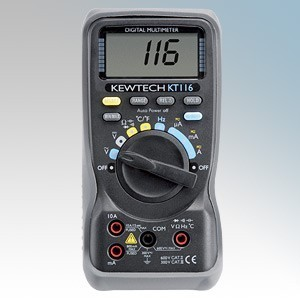 Kewtech Digital Multimeter With Temperature Measurement