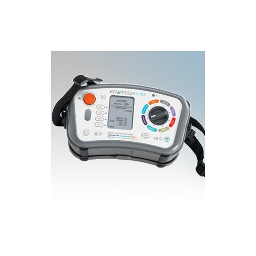 Kewtech 8-In-1 Digital Loop, PSC, RCD, Insulation/Continuity, Phase Rotation & Earth Resistance Multifunction Tester With ATT (Downloadable)
