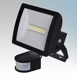 Timeguard LEDX10PIRB.1-OFFER Night Eye Black Wide Beam LED Security Floodlight With 180° PIR Detector, Instant ON Light & Adjustable Quick Fit Bracket IP55 10W 685 Lumens