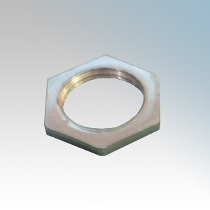 Galvanised Steel Hexagonal Heavy Locknut 20mm