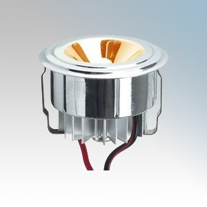 Collingwood Lighting LED LYTE Silver Plug-and-Play Mini LED Downlight With Amber LED IP20 1W 350mA