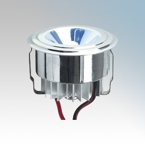 Collingwood Lighting LED LYTE Silver Plug-and-Play Mini LED Downlight With Blue LED IP20 1W 350mA