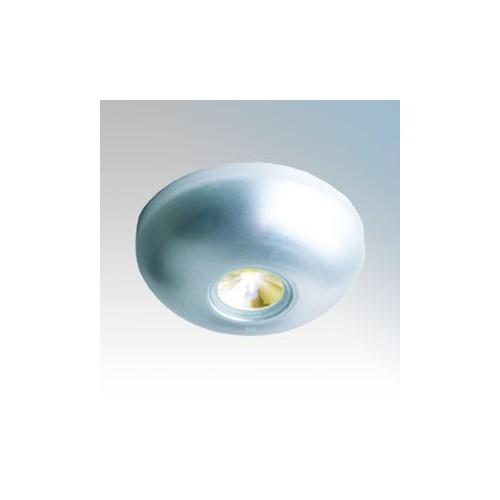 Collingwood Lighting LED LYTE Surface Silver Plug-and-Play Mountable LED Mini Light With Cool White LED & 1m Plug-and-Play Extension Lead IP65 1W 350mA