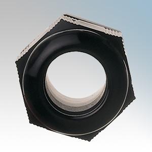 Elkay NGL20-B Black Nylon Locknut M20