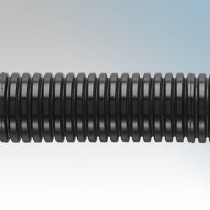 Adaptaflex PAFS21/BL/25M Type PA Black Nylon Standard Weight Low Fire Hazard Fine Pitch Flexible Conduit IP66 21mm 25m Reel