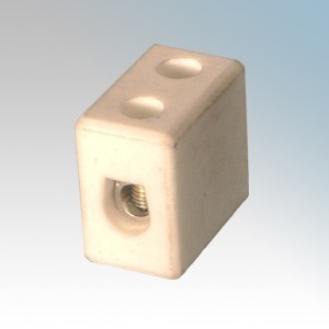 PC151 1 Way Porcelain Connector Block 15A