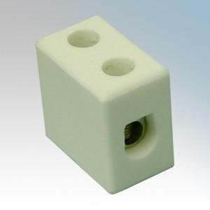 PC152 2 Way Porcelain Connector Block 15A