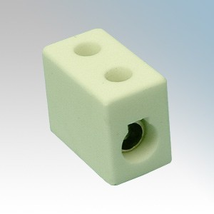 PCB52 2 Way Porcelain Connector Block 5A