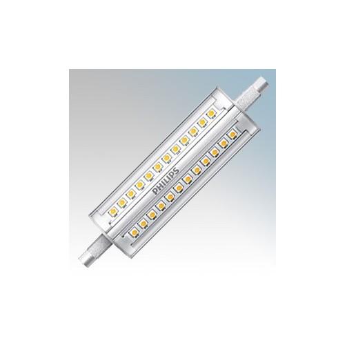Philips 57879700 CorePro LEDcapsule MV Clear Warm White 2700K Dimmable LED R7s Capsule Lamp 1600Lm 14W G9 240V Dia:28.5mm x L:118mm