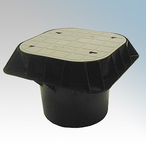 Furse PT205 Lightweight Earth Inspection Pit With Grey Polymer Lid L:300mm x W:300mm x D:158mm Weight 1.8kg