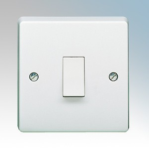 Crabtree 4015 Capital White Moulded Double Pole Switch 20A