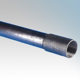 Round Steel Conduit Lengths & Fittings