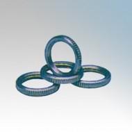BZP Steel Locking Rings For Round Steel Conduit